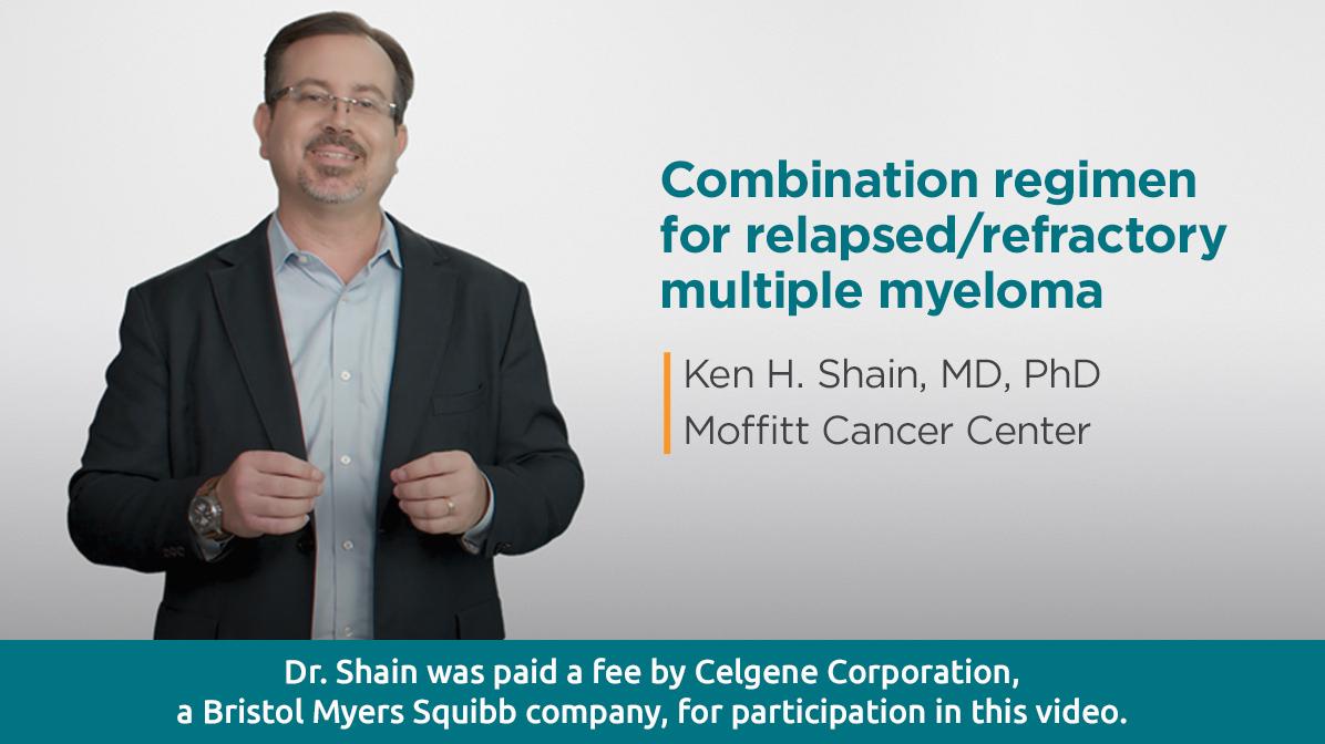 Combination regimen for relapsed/refractory multiple myeloma