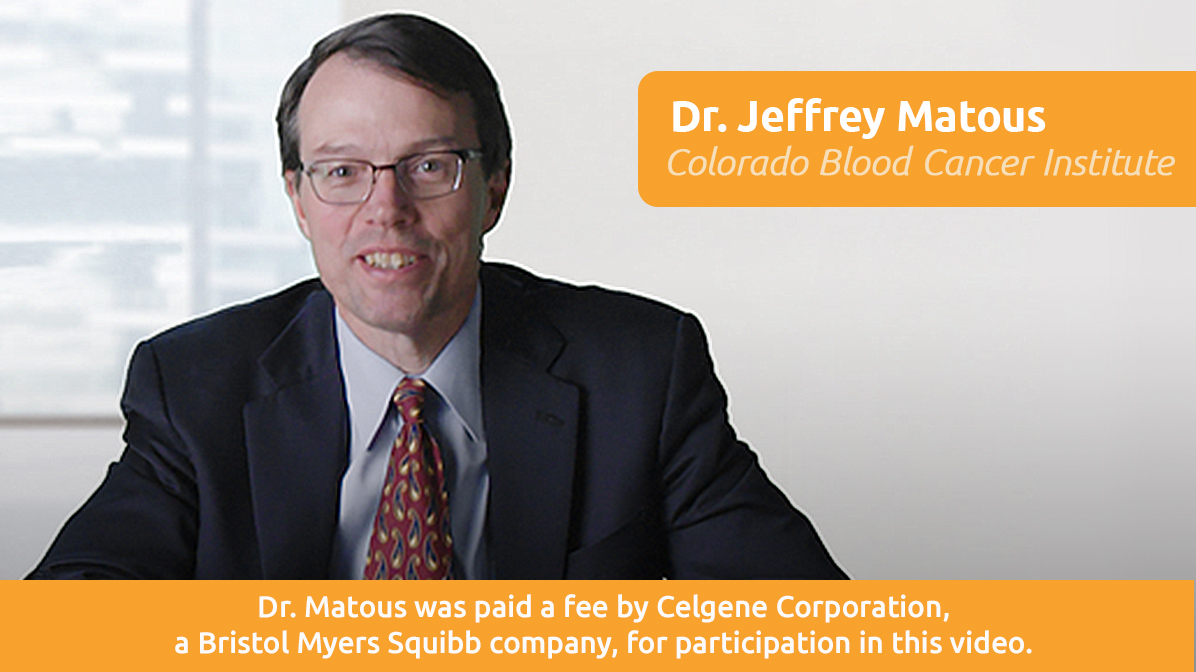 Dr. Jeffrey Matous, Colorado Blood Cancer Institute